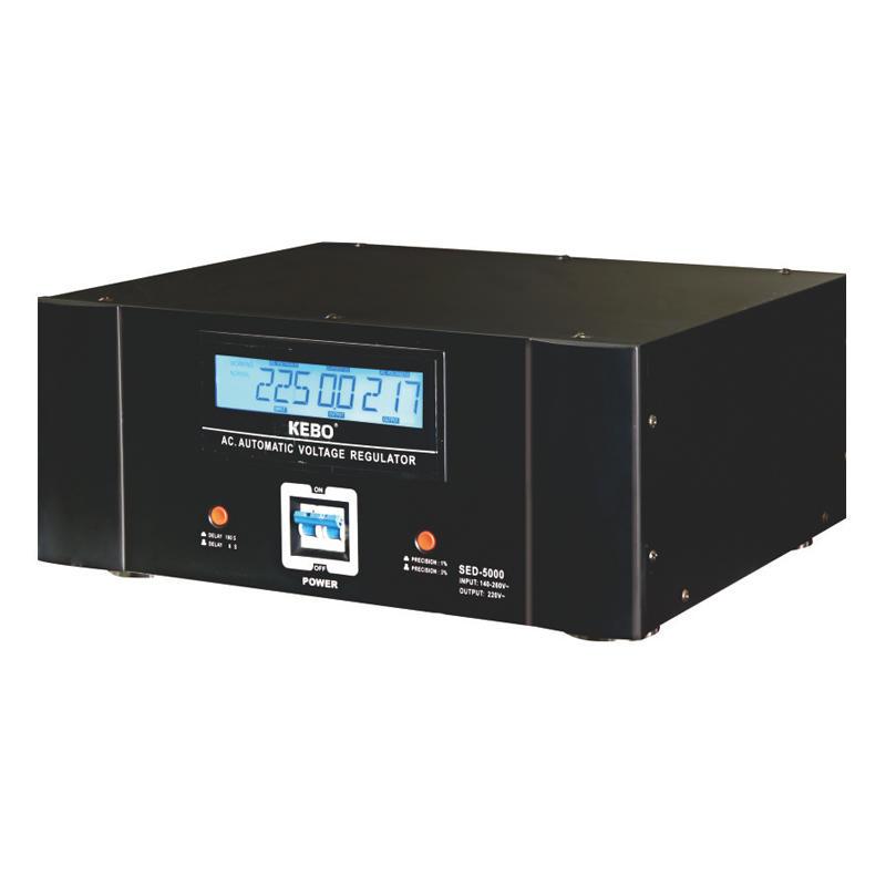 Strong Loading Capability Servo Motor Voltage Regulator SED series for Heavy Duty Appliance