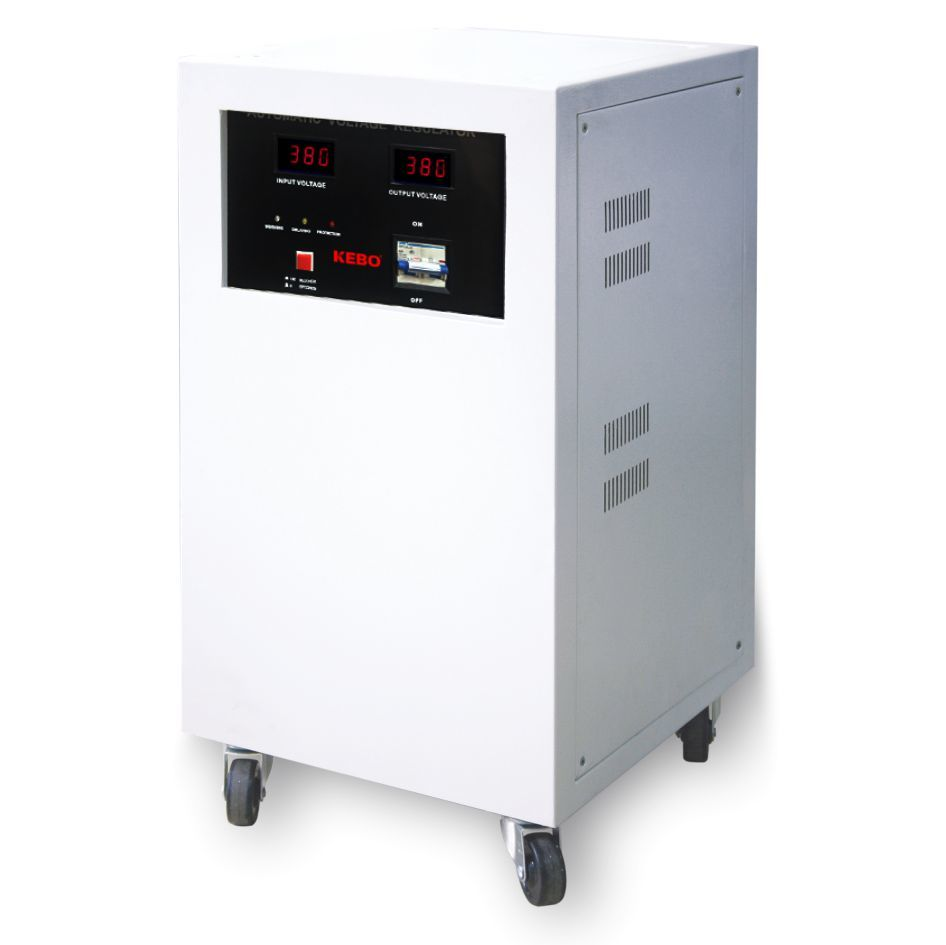 single phase servo voltage stabilizer phase voltage KEBO Brand servo stabilizer