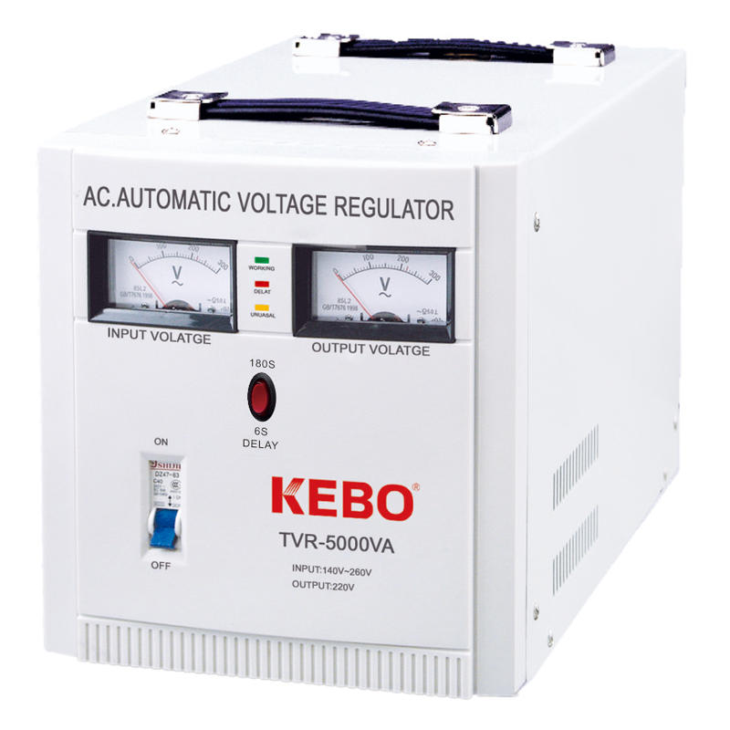 500VA-10KVA Metal Cabinet Regulation Device TVR series Dynamic Use for Home Appliances