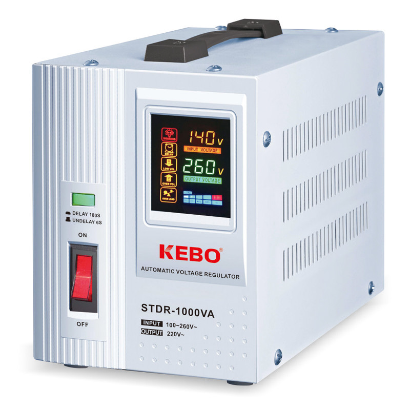 Upgrade Automatic Voltage Regulator STDR series with Integrated LED display and Customized Relays
