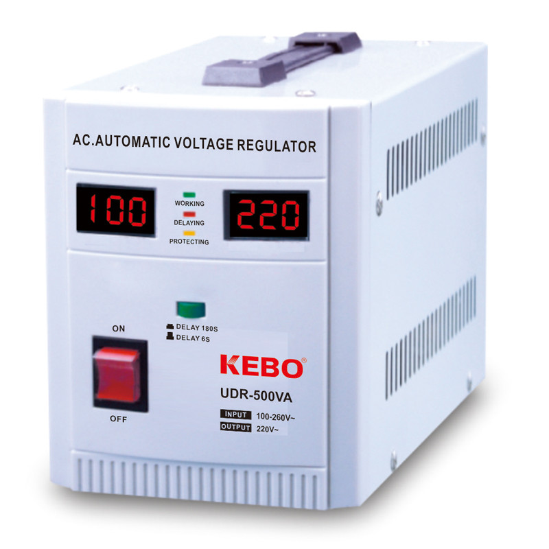 Wide Input Range 80-260V Relay Voltage Regulator UDR Series Optimal Use for Asia Africa Middle East