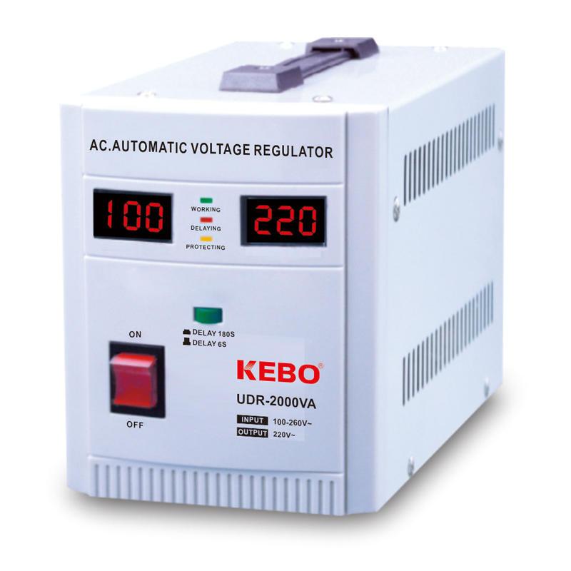 Wide Input Range 80-260V Relay Voltage Regulator UDR Series Optimal Use for Asia Africa Middle East