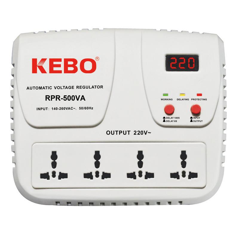 High Performance Relay Stabilizer RPR-500/1000VA with Output Voltage 220V/230V/240V
