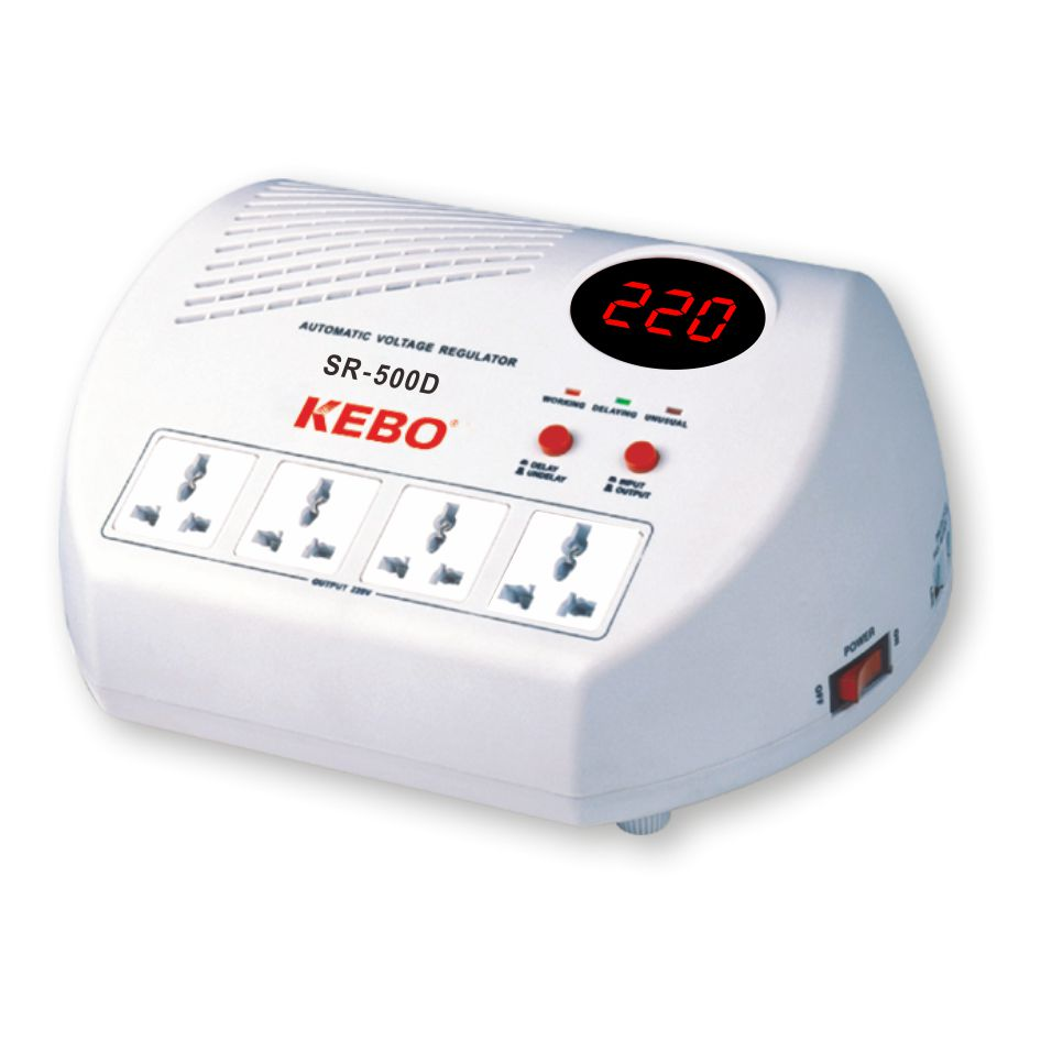 KEBO -Ac Voltage Regulator Popular Home Voltage Regulator Socket Type