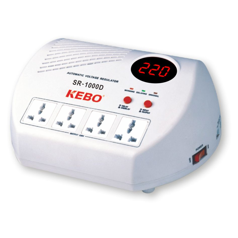 KEBO -Ac Voltage Regulator Popular Home Voltage Regulator Socket Type-1
