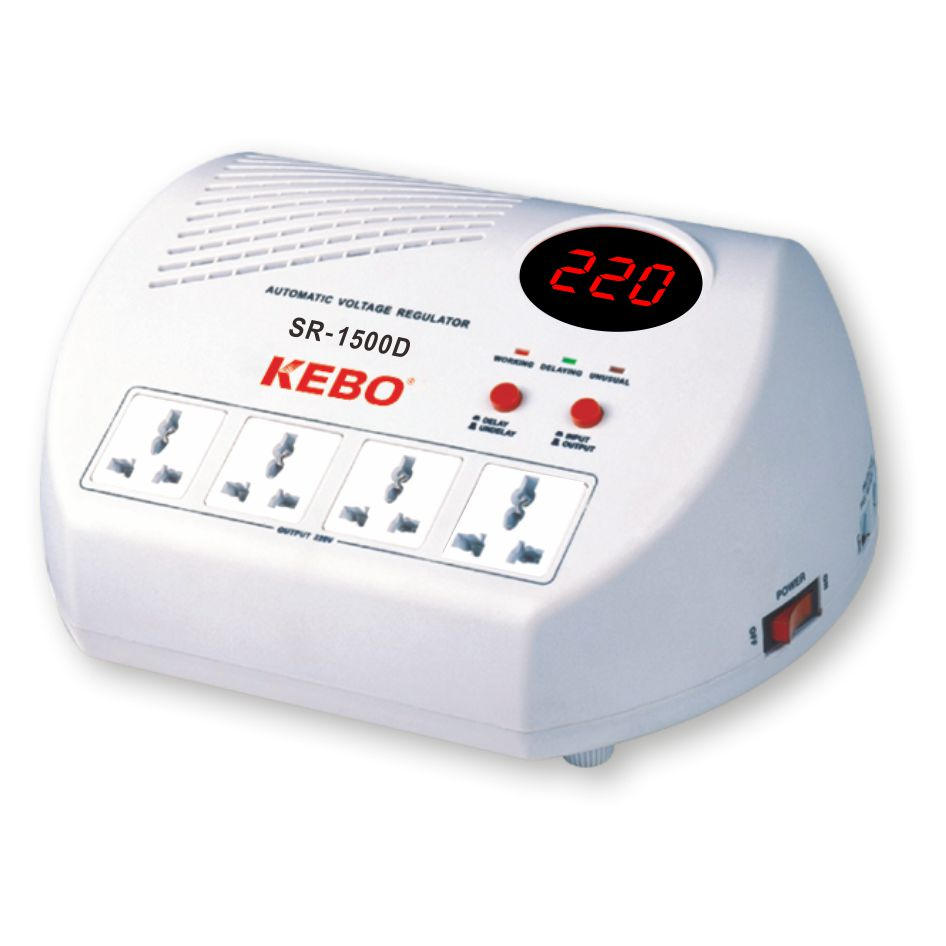 KEBO -Ac Voltage Regulator Popular Home Voltage Regulator Socket Type-2
