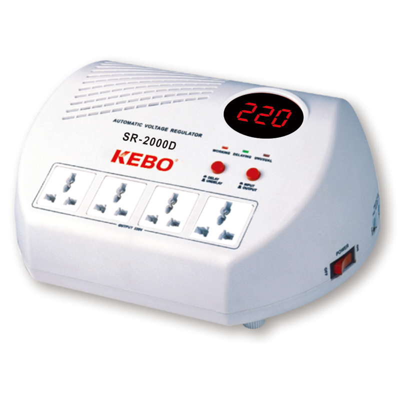 KEBO -Ac Voltage Regulator Popular Home Voltage Regulator Socket Type-3