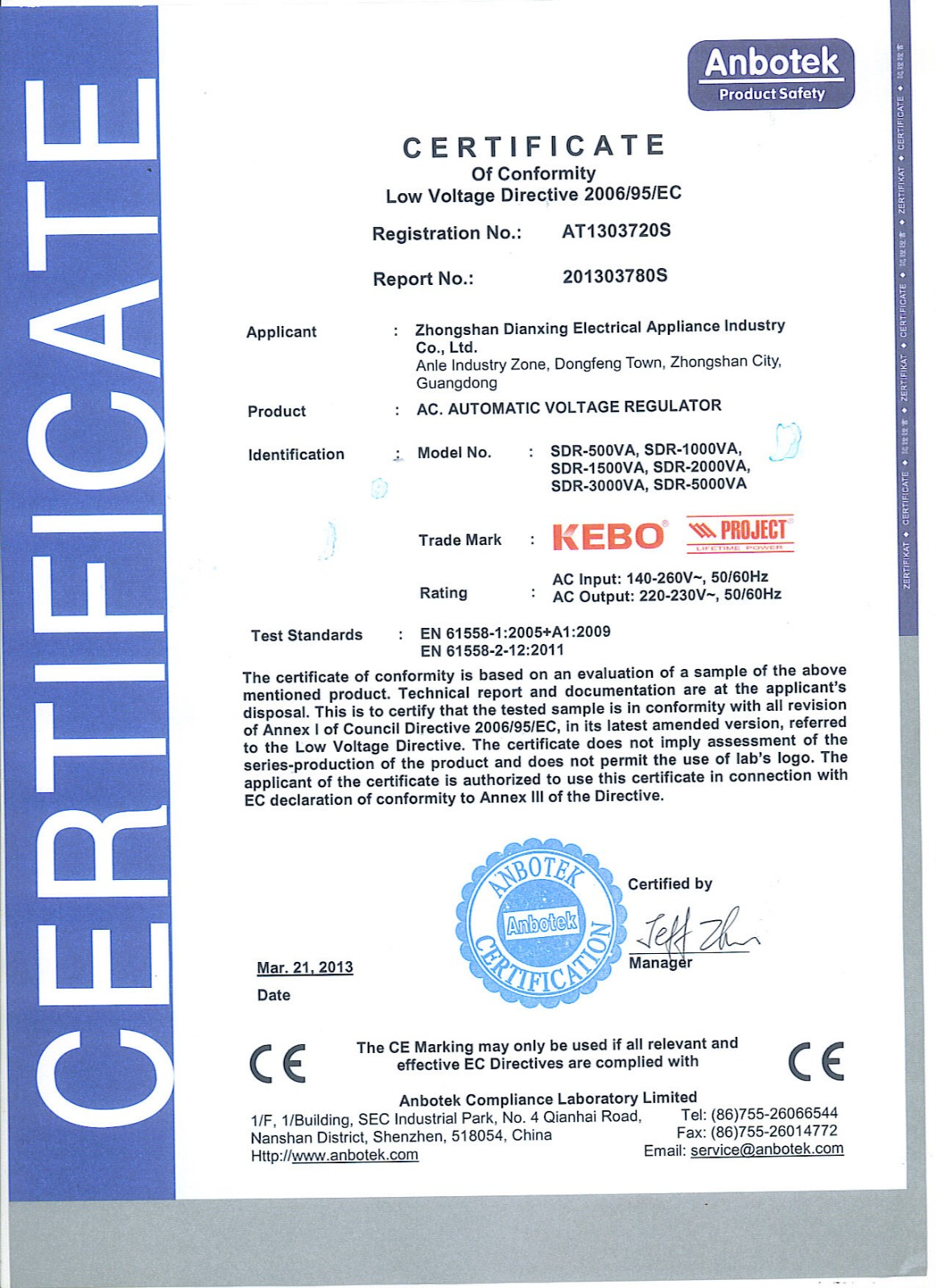 KEBO -Find Voltage Stabilizer Price Generator Regulator From Kebo Power Supply-9