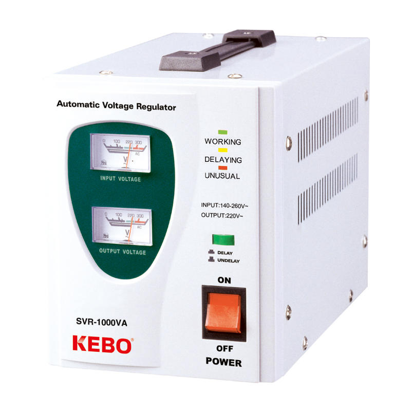 Factory Supply Single Phase Relay Control Power Stabilizer SVR Series