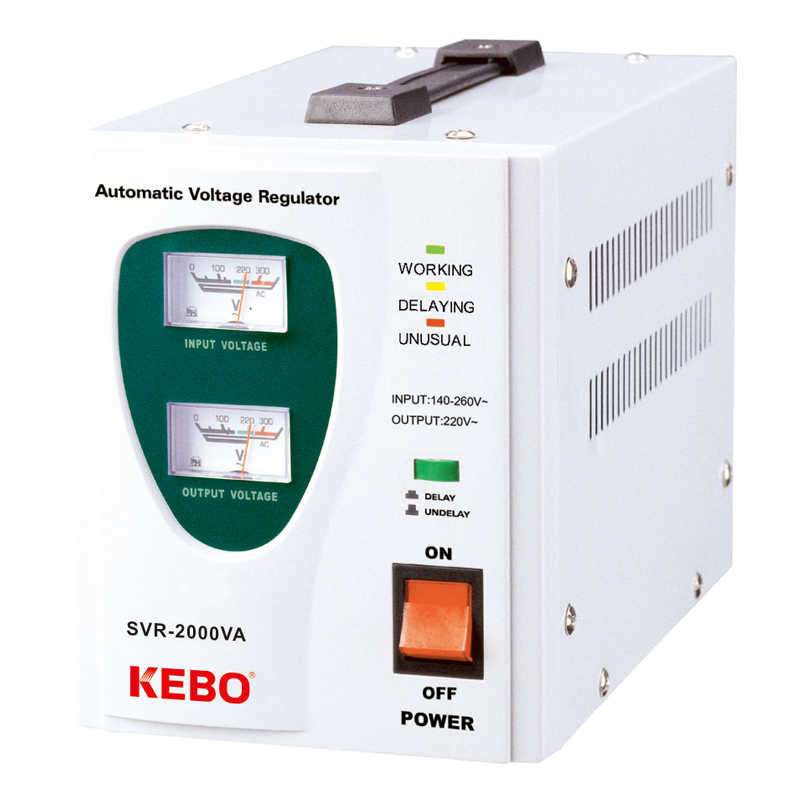 KEBO -Avr Generator, Factory Supply Single Phase Relay Control Power Stabilizer-1