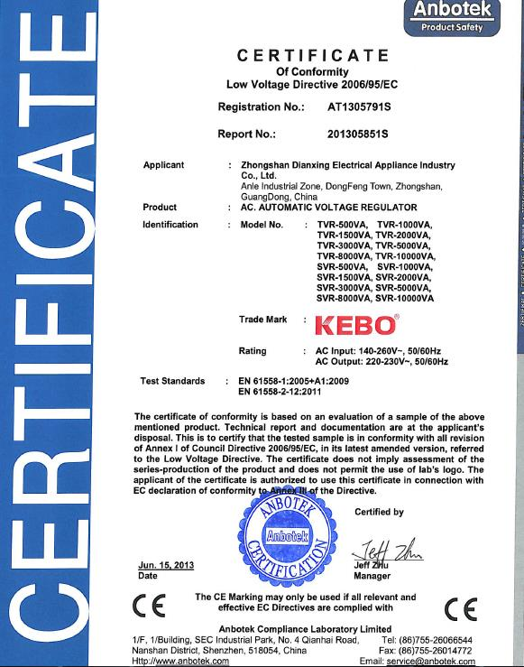 KEBO -Ac Stabilizer | Factory Supply Single Phase Relay Control-12