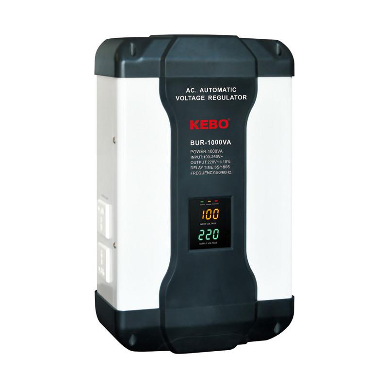 Ultra Slim Wide Range Regulation 80-260V Automatic Voltage Stabilizer BUR Series