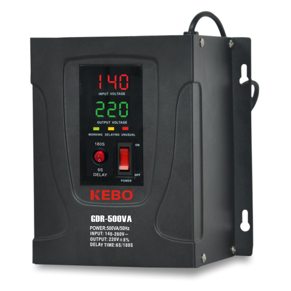 KEBO -Electric Stabilizer Full Metal Cabinet Single Phase