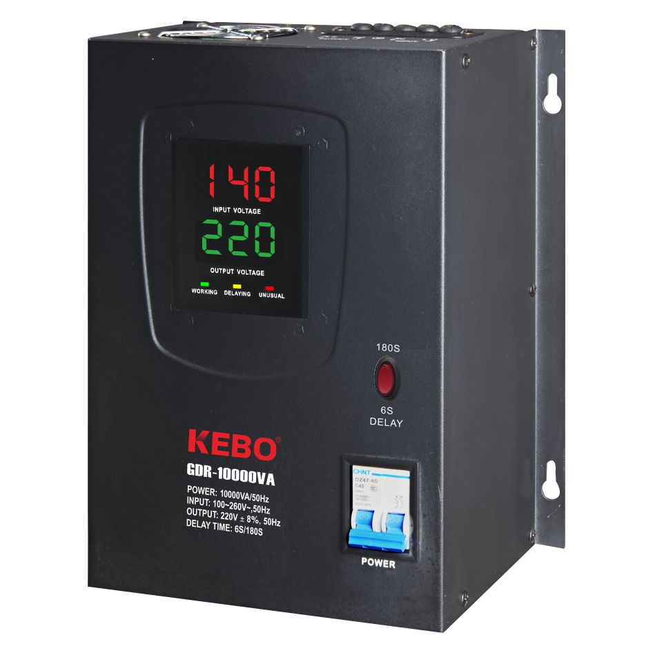 KEBO -Electric Stabilizer Full Metal Cabinet Single Phase-3