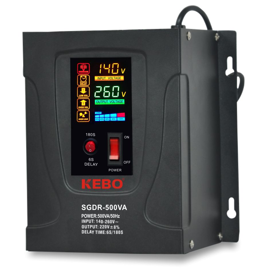 KEBO -Electric Stabilizer Full Metal Cabinet Single Phase-4