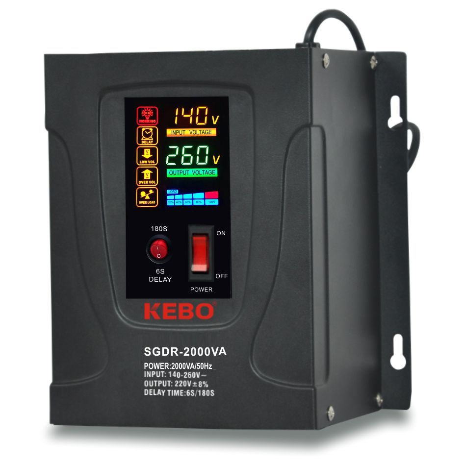 solution electric stabilizer tdr for compressors KEBO