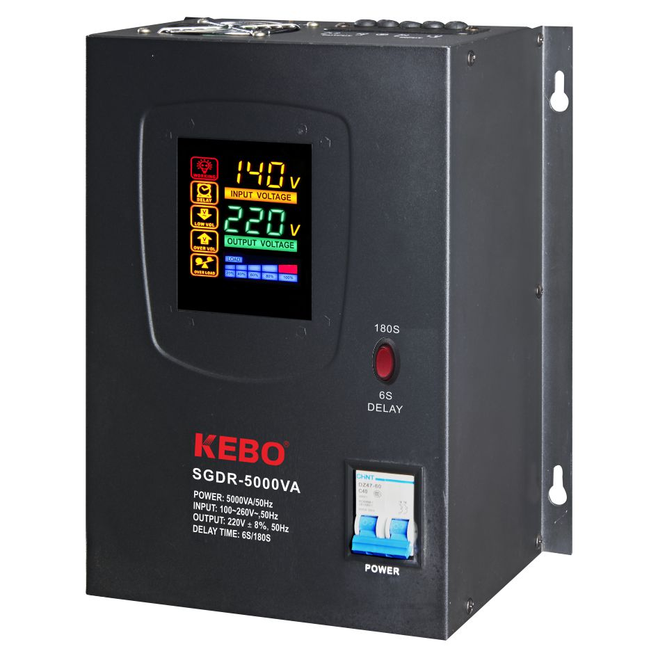 KEBO -Electric Stabilizer Full Metal Cabinet Single Phase-6