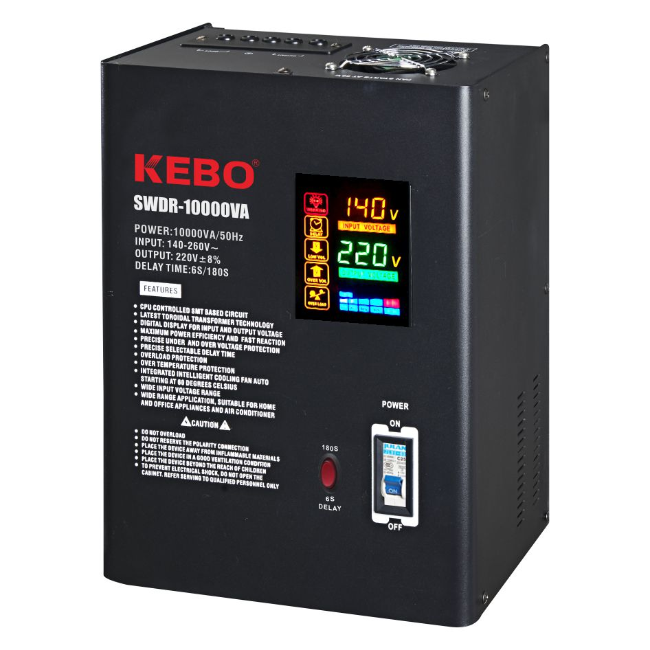 KEBO -Wall Mounted Metal Case Power Voltage Regulator Swdr Series