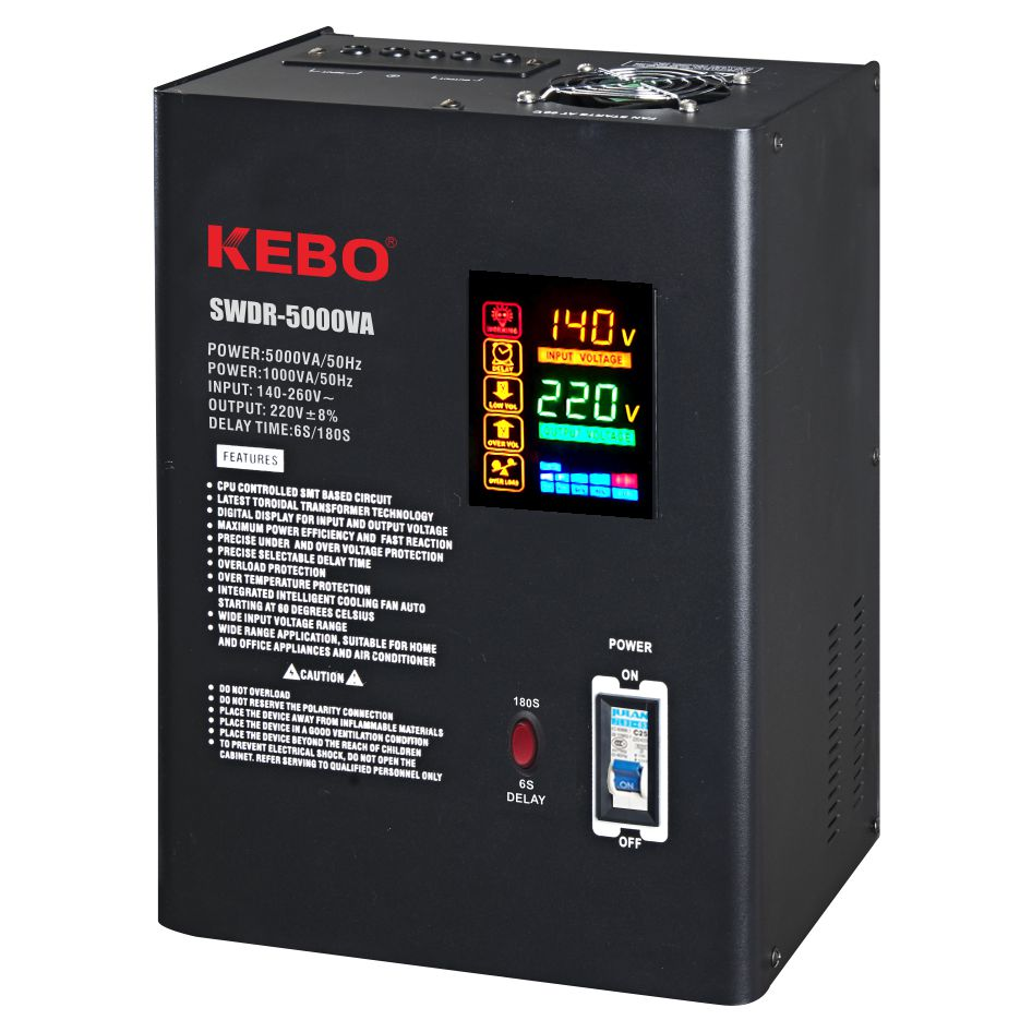 KEBO -Wall Mounted Metal Case Power Voltage Regulator Swdr Series-1
