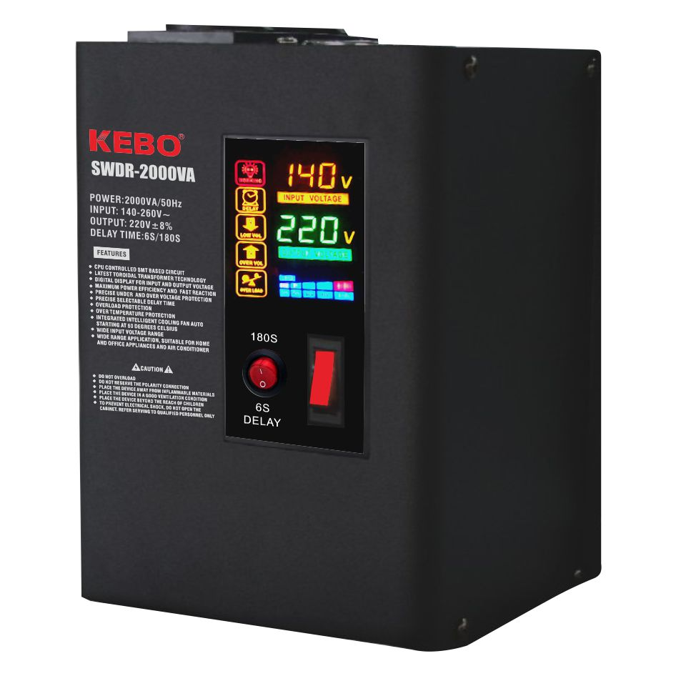 KEBO -Wall Mounted Metal Case Power Voltage Regulator Swdr Series-2