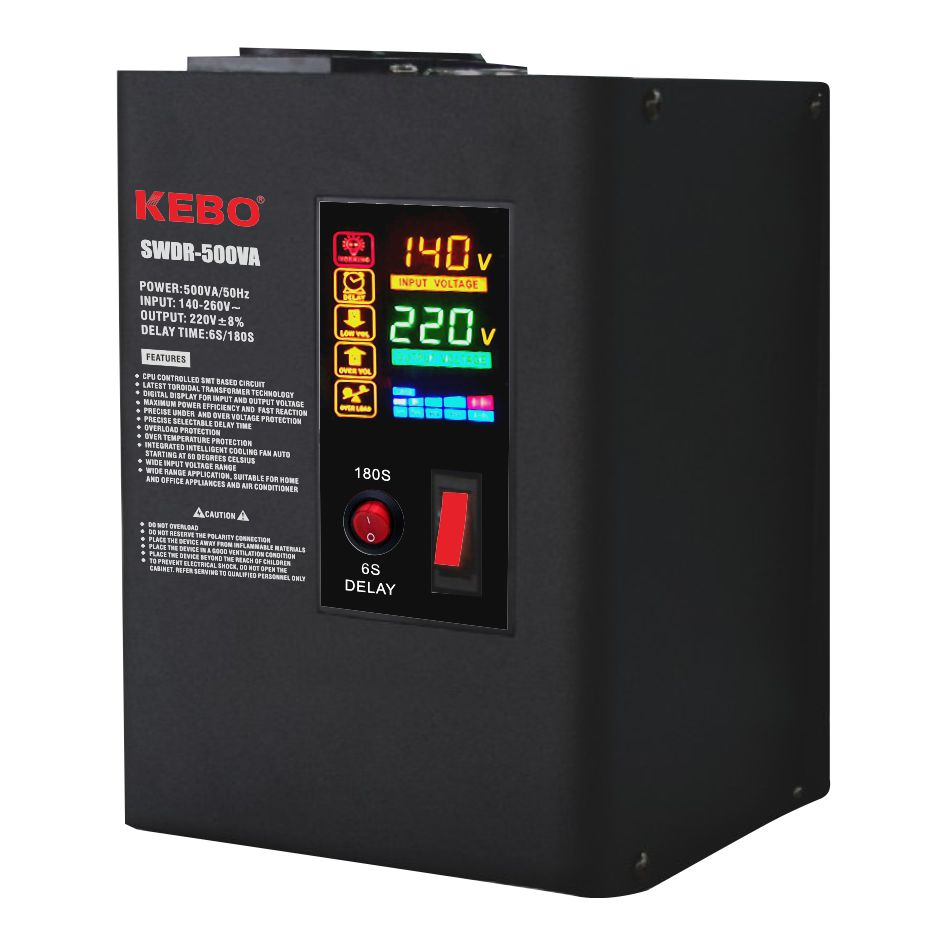 KEBO -Wall Mounted Metal Case Power Voltage Regulator Swdr Series-3