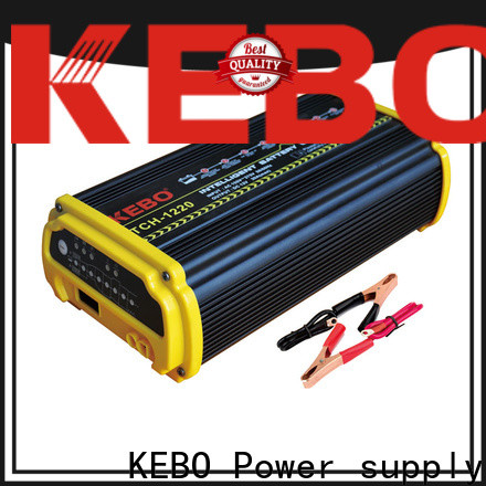 KEBO 12v24v smart automotive battery charger supplier for business