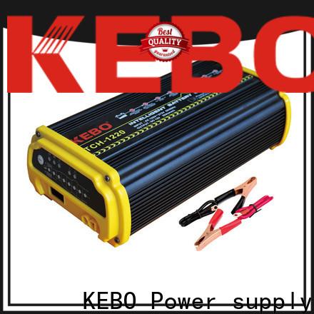 KEBO 12v24v smart automotive battery charger supplier for business
