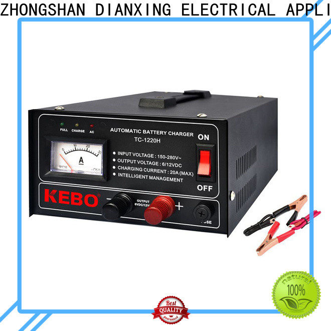 KEBO tch automatic 12v car battery charger company for industry