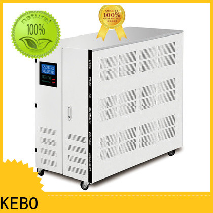 KEBO series 10 kva servo voltage stabilizer price company for industry