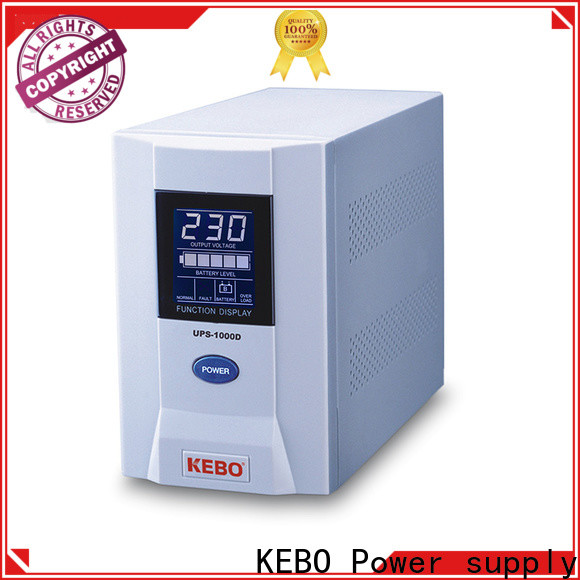KEBO hot sale line interactive ups vs online ups company for indoor