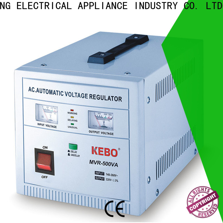 KEBO durable types of voltage stabilizer Supply for kitchen