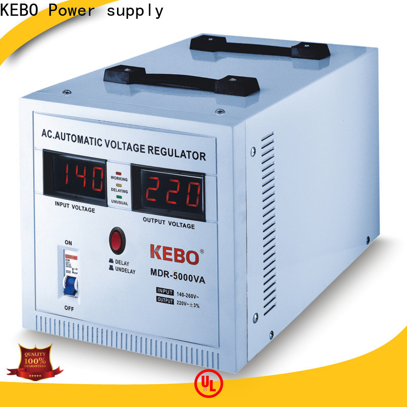 KEBO high quality relay voltage stabilizer series for indoor