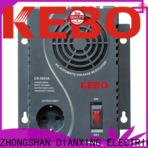 KEBO durable servo motor stabilizer vs relay stabilizer manufacturer for compressors