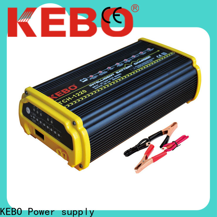 KEBO Top auto chargers for batteries customized for industry