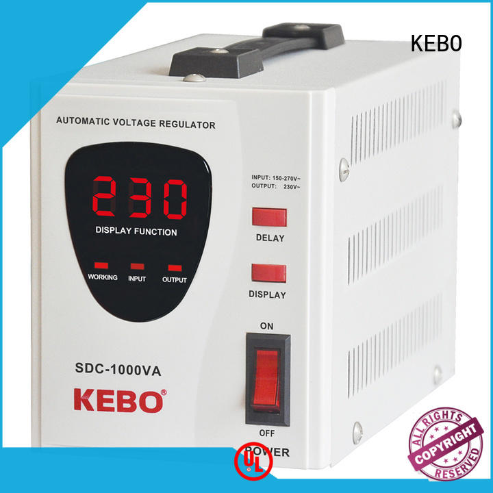 KEBO safety servo controlled stabilizer wholesale for indoor