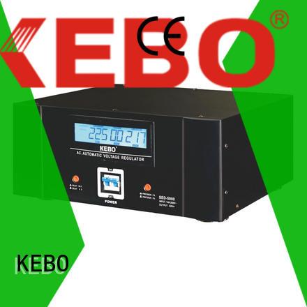 KEBO Brand voltage single phase servo voltage stabilizer mounted supplier