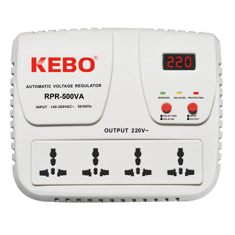 KEBO -High Performance Relay Stabilizer Rpr-5001000va With Output Voltage 220v230v240v