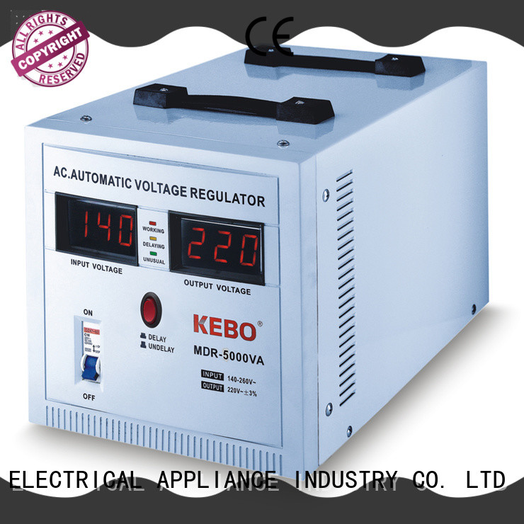 KEBO efficient servo stabilizer series for industry