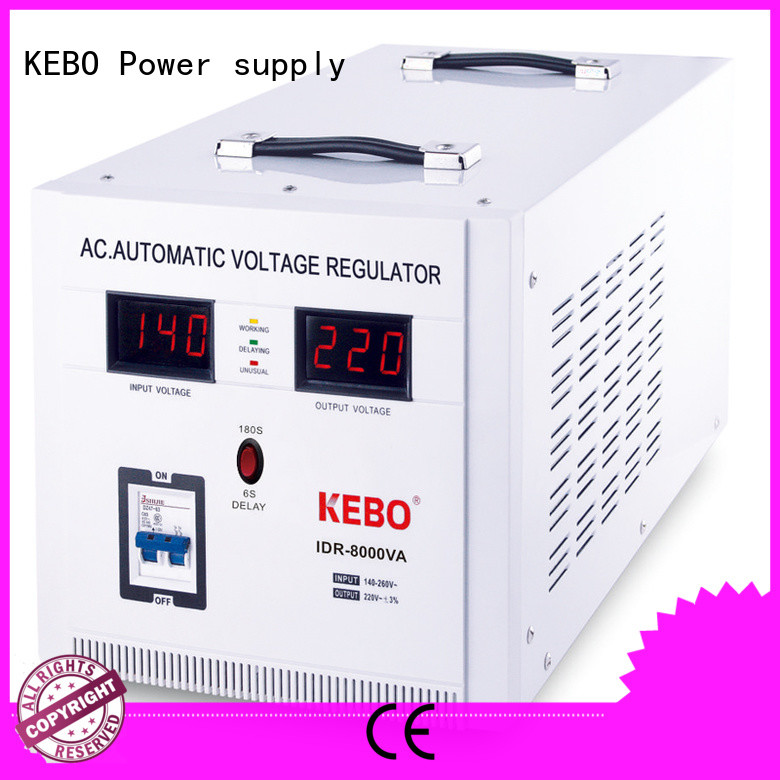 KEBO safety servo voltage stabilizer series for indoor