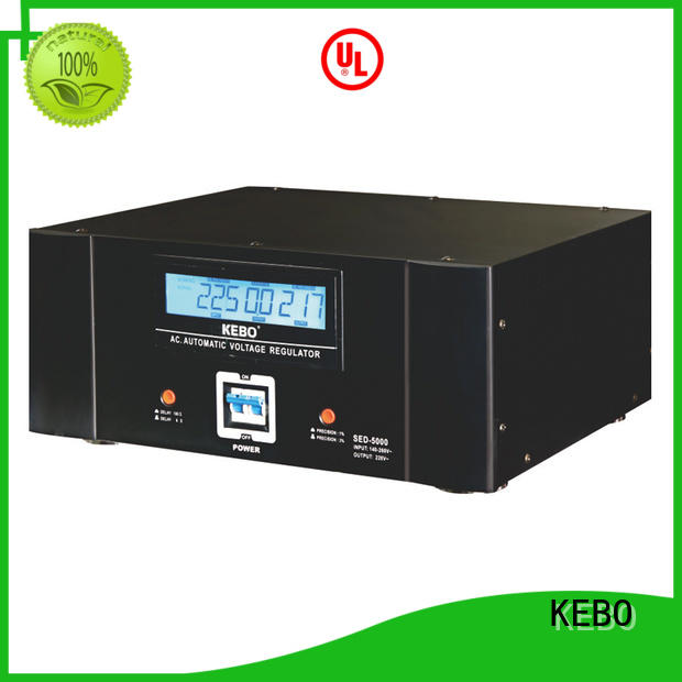 KEBO display servo voltage stabilizer wholesale for laboratory