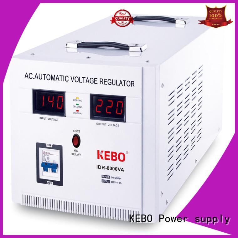 Large Power Single Phase Servo Motor Type Voltage Regulator IDR Series with Copper Transformer