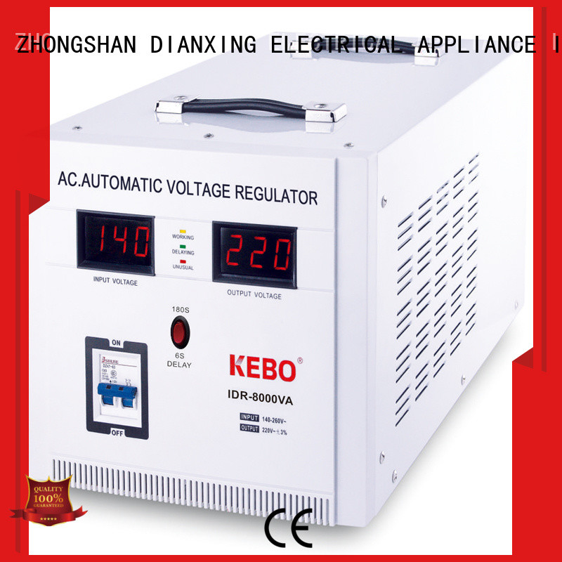 online servo voltage stabilizer large wholesale for indoor