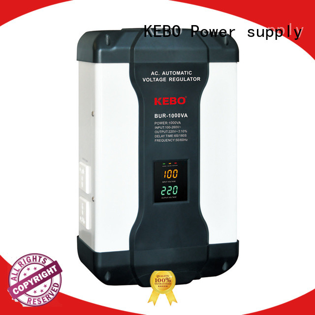 KEBO high quality relay type ac voltage stabilizer Suppliers for industry