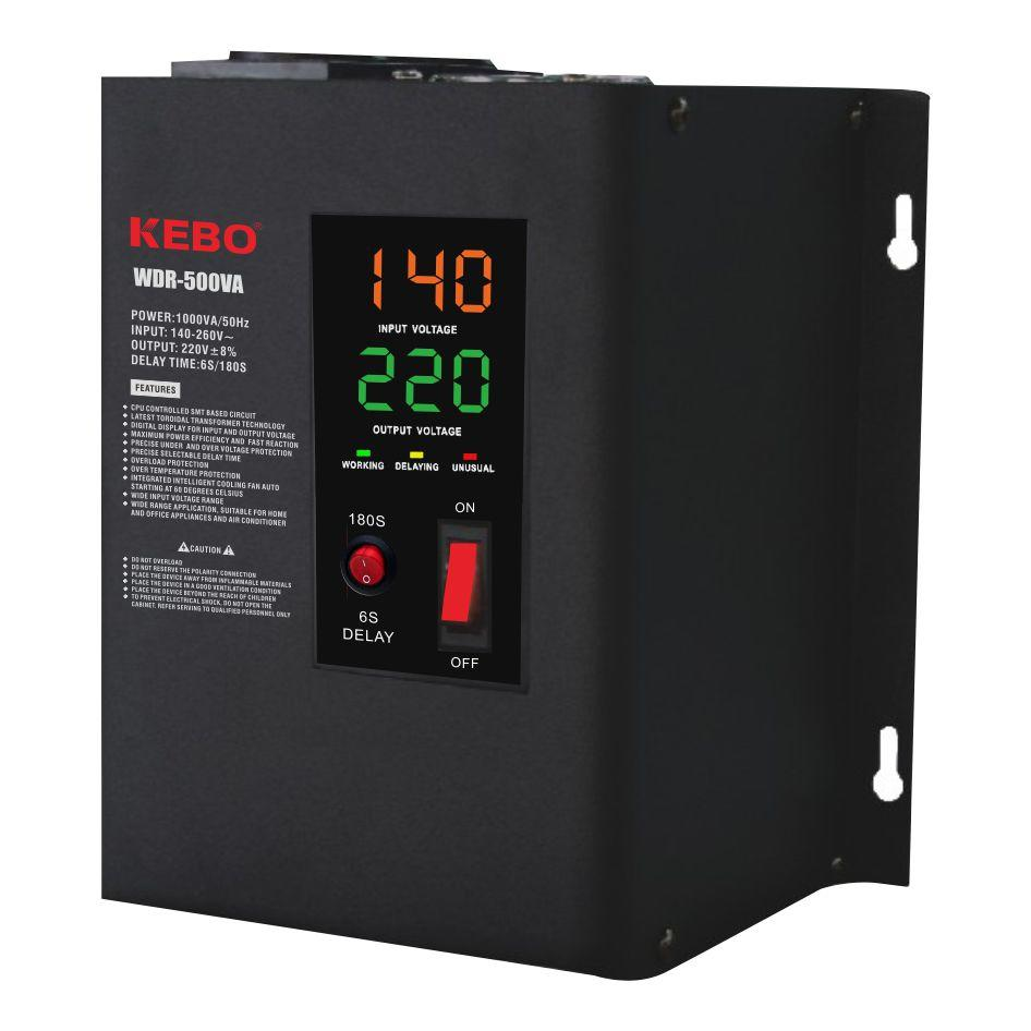 KEBO -High-quality Ac Stabilizer | Full Metal Wall Mounted Automatic Voltage Regulator Wdr 0