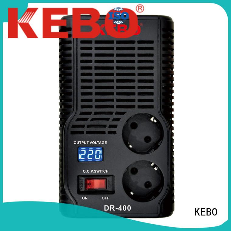 KEBO Brand dual system voltage stabilizer for home transformer supplier
