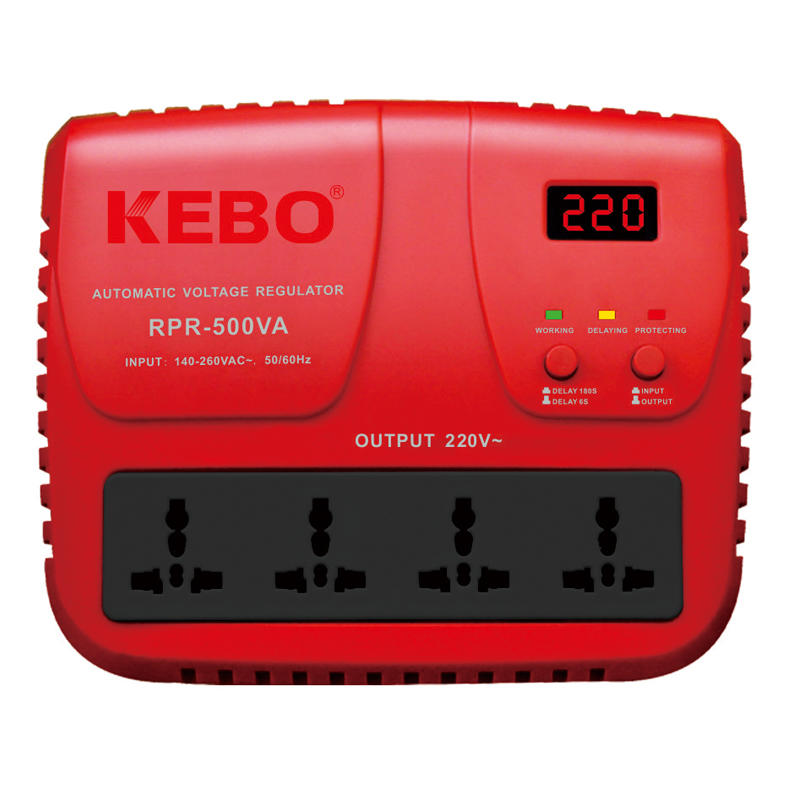 KEBO -High Performance Relay Stabilizer Rpr-5001000va With Output Voltage 220v230v240v-1