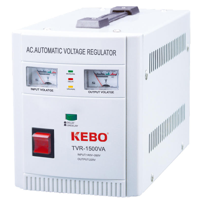 KEBO -Best Avr Regulator 500va-10kva Metal Cabinet Regulation Device Tvr Series-1