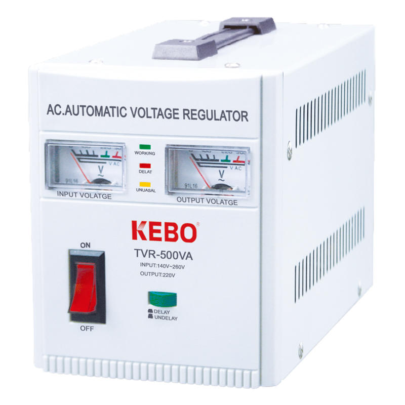 KEBO -Best Avr Regulator 500va-10kva Metal Cabinet Regulation Device Tvr Series