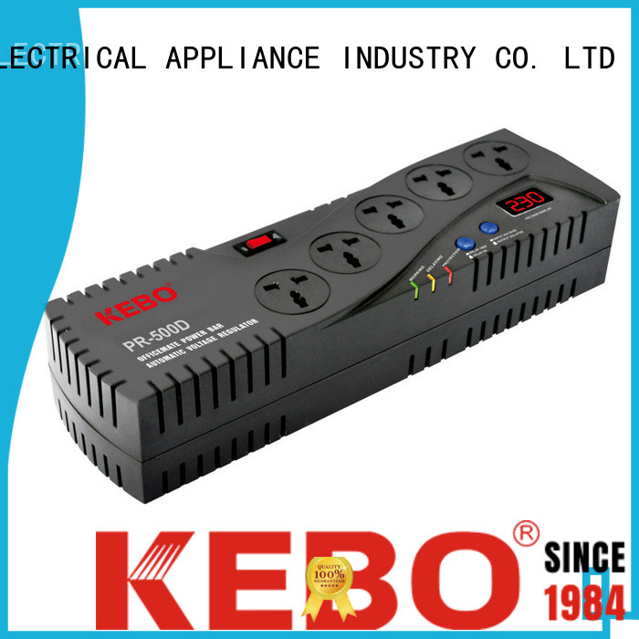 KEBO wdr difference between servo and relay stabilizer supplier for kitchen