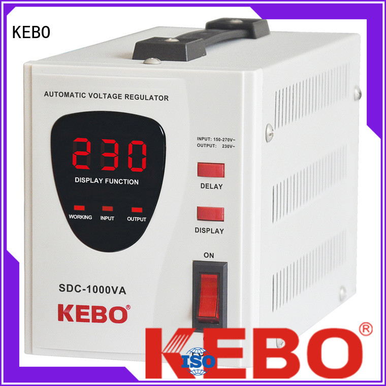 KEBO high efficient servo voltage regulator customized for indoor